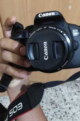 Canon 700d model with 50 mm lens on sale