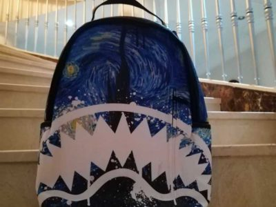 Sprayground bag da Vinci painting