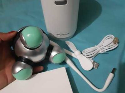 Bundle humidifier and massager all new