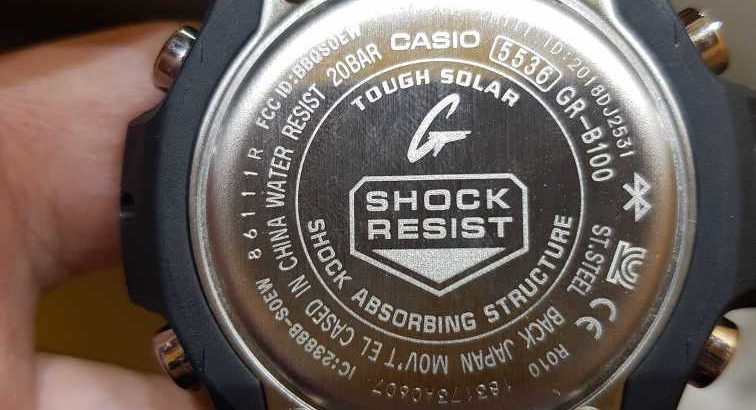 Gshock Gravity  Master