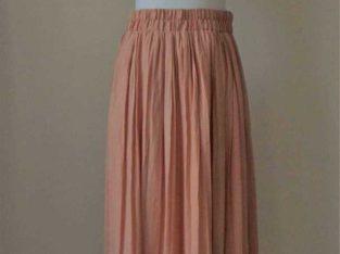 Forever 21 Long Peach Skirt