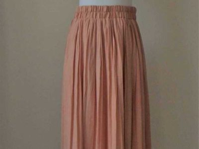 Forever 21 Long Peach Skirt
