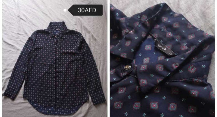 Secondhand Dress and Blouse for SALE