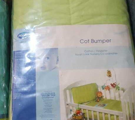 Brand New Cot Bumper 2 pcs