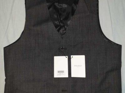 Waistcoat Men Balmain Paris brand
