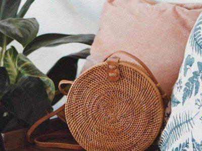 Bali Round Rattan Bag