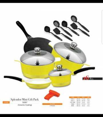 Cookware set Sonex Non stick Ceramic coating Different Colors available
