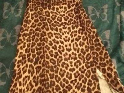 léopard dress