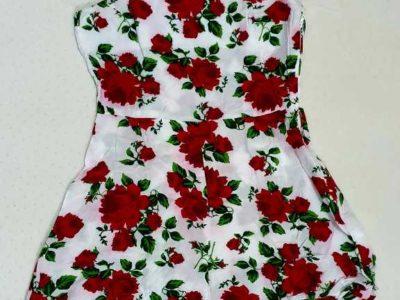 Preloved H&M Divided Floral Playsuit