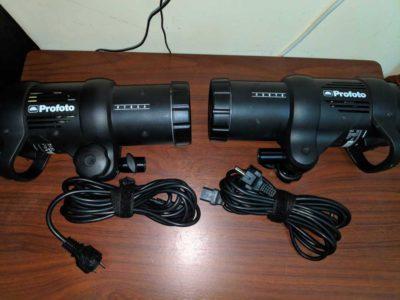 Profoto D1 500 Flash x2