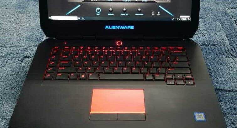 ALIENWARE 15R2 Touchscreen i7 6th Generation 16GB RAM 1TB HDD 256SSD Nvidia Geforce GTX 970M 3GB Dedicated