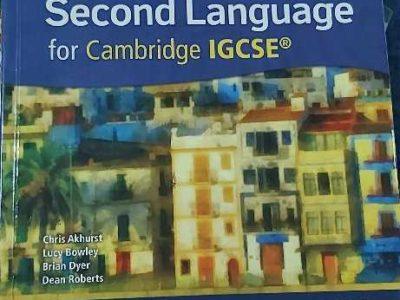 English Book IGCSE – English as a Second language for Cambridge for IGCSE