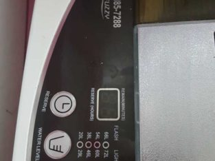 haier 8.5 kg top load washing machine