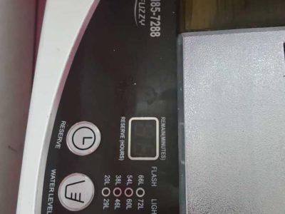 haier 8.5 kg top load washing machine