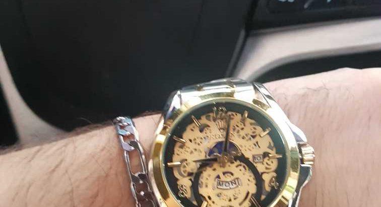 rolex watch luxurious
