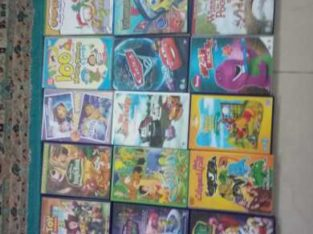 Cartoons,  Movies,  and one PS3 Game