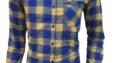 Blue chex shirt for men – Size Medium