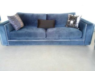 Sofa Set Blue