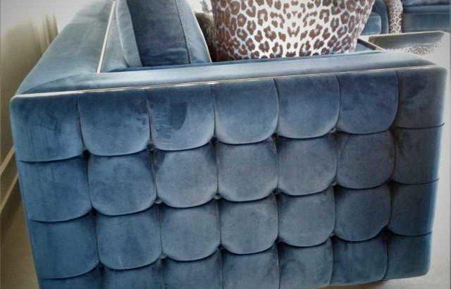 Sofa Set Blue