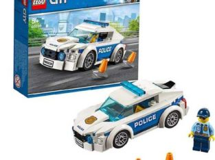 LEGO City Police Patrol Car, Multi-Colour, 60239