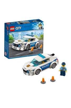LEGO City Police Patrol Car, Multi-Colour, 60239