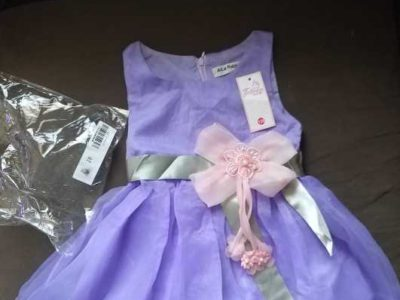 1 to 3years girl party wear