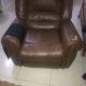 reclining sofa chocolate brown