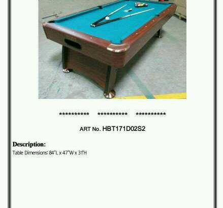 billiard table roma Italy