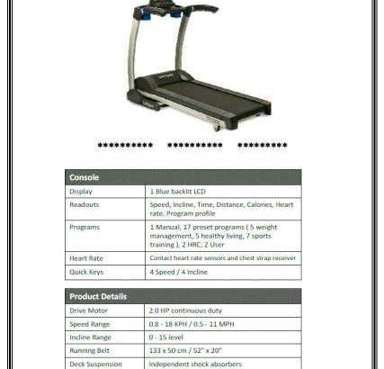 treadmill lifespan