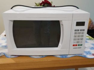 Microwave plus Toaster