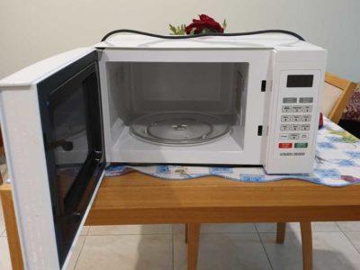 Microwave plus Toaster