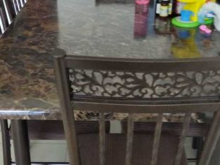Beautiful dining table with chairs