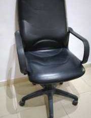 Big Leather Office Chair For AED 50
