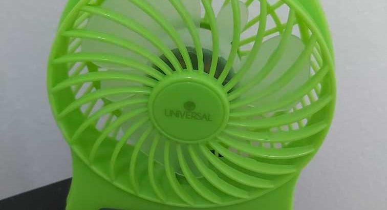 Small Rechargeable Fan