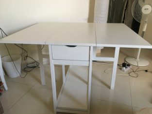 Adjustable ikea table