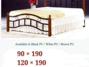 Brand  new bed available duble and single size wooden steel PM whtsap 0559634464