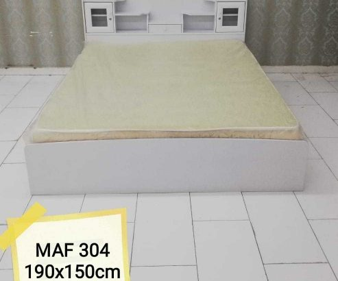 Brand new queen size bed with metres