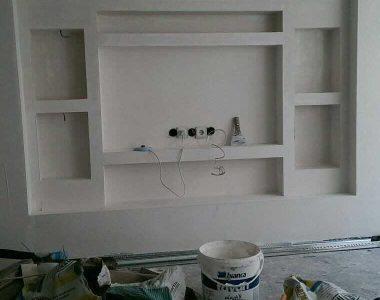 gypsum decor work
