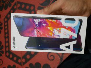 Samsung A70 black 128gb 6gb ram