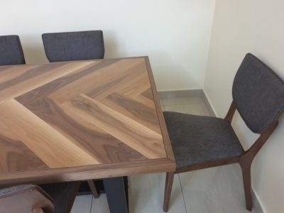 Dining table 6chairs made in Malaysia homecentre