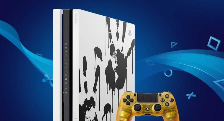 ps4 pro 1 TB limited edition brand new