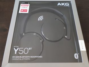 AKG Y50 Bluetooth On- Ear Headphones