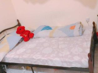 Double bed with Matress 200 AED