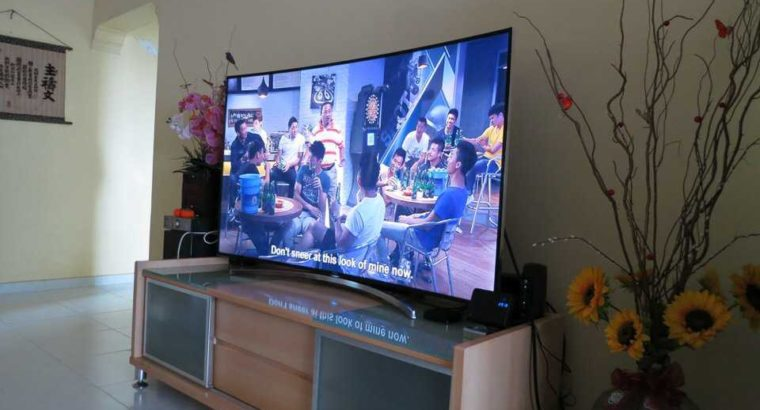 brand new Samsung HD ultra smart 3d tv