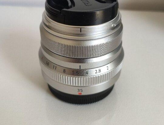 Fujinon 35mm f2 WR silver