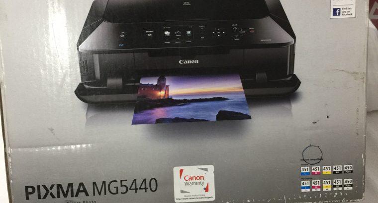 Cannon pixima MG5440 inkjet printer