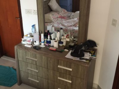 Dressing table with mirror. Home center