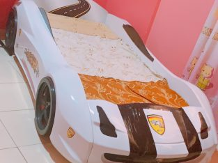 CAR BED FOR KIDS WITH MATTRESS