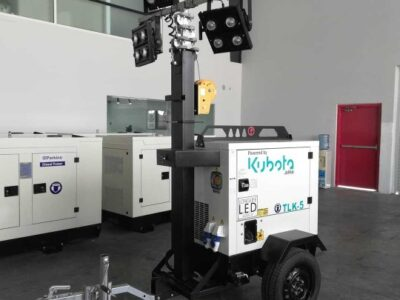 5kva Kubota led tower light