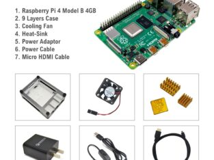 Raspberry Pi 4 7 in 1 kit